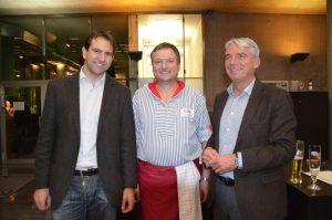 Andreas Jung, Christian Ribler und Thomas Strobl